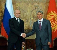 Алмазбек Атамбаев встретился с Главой Республики Башкортостан Рустэмом Хамитовым