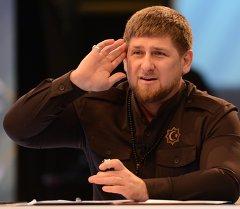Чечен президенти Рамзан Кадыров. Архив