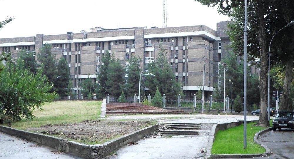 Здание Министерства внутренних дел Таджикистана