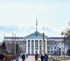 Мэрия города Бишкек. Архивное фото