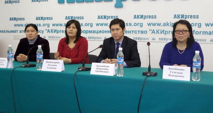 Комитет родителей учеников школ Себат на пресс-конференции в АКИpress.