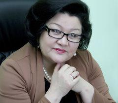 Ата-Журт фракциясынын депутаты Жылдызкан Жолдошова. Архив