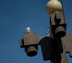 Бишкектеги жарык системасы. Архивдик сүрөт