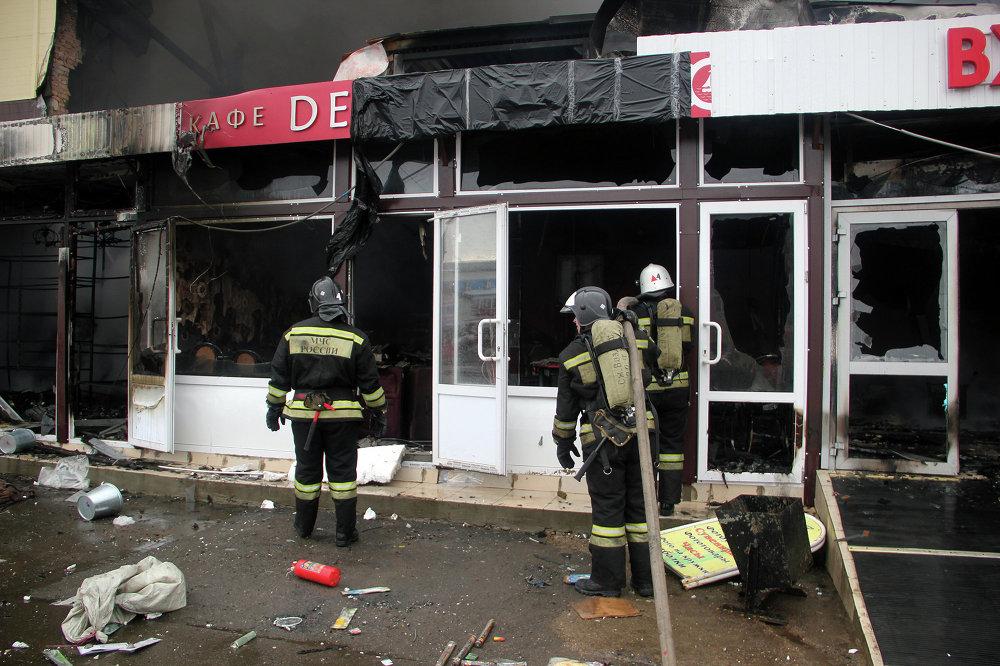 К тушению пожара были привлечены силы и средства в составе 207 человек и 59 единиц техники