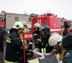 Крупный пожар в торговом центре Адмирал в столице Татарстана