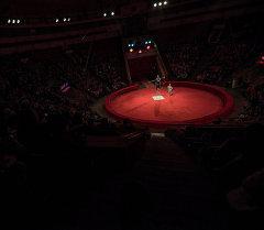 Бишкекский цирк на арене. Архивное фото