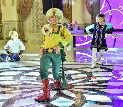 Кыргызский национальный танец Кара-Жорго