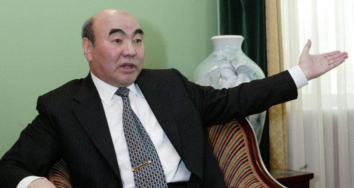 Бывший президент КР Аскар Акаев. Архивное фото