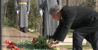 Алмазбек Атамбаев 2002-жылы Аксы окуяларында курман болгондорду эскерди