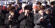 В Аксы молитвой почтили память погибших в событиях 2002 года