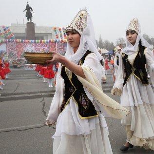 Праздник весны в Бишкеке. Архивное фото