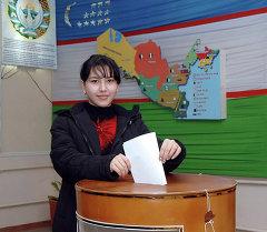 Президентские выборы в Узбекистане. Архивное фото