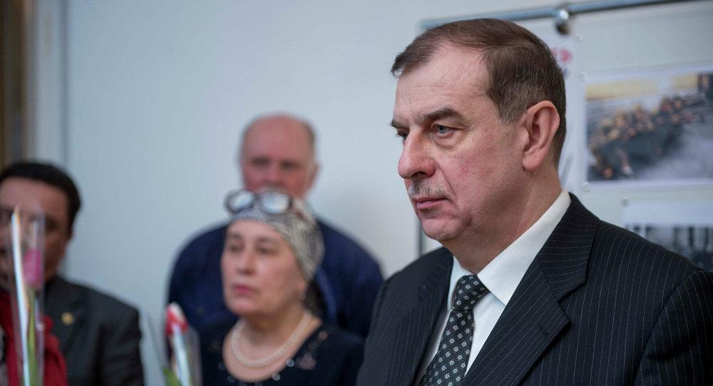 Посол Российской Федерации в Кыргызской Республике Андрей Крутько. Архивное фото