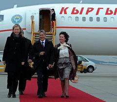 Атамбаев Европага болгон расмий сапарынын алкагында Австрияга келди