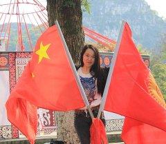 Кыргызский и китайский флаги. Архивное фото