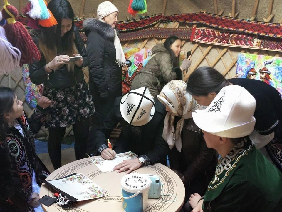 Чет жактагы кыргыз диаспоралары Нооруз майрамын кызуу белгилешти