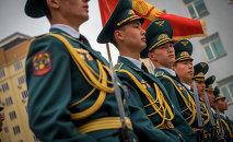 Солдаты Национальной гвардии КР. Архивное фото