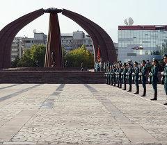 Жумада Бишкекке Жеӊиштин 70 жылдыгына арналган эл аралык Эскерүү эстафета келет