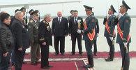 Ветераны ВОВ из Санкт-Петербурга забрали частичку Вечного огня из Бишкека