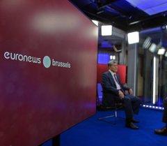 Президент Алмазбек Атамбаев Евроньюс телеканалына маек берди