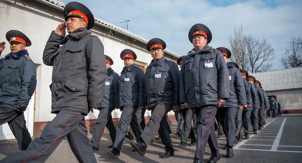 Строевой марш сотрудников МВД. Архивное фото
