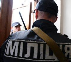 Киев банкынын жанында жарылуу болду