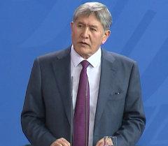 Атамбаев рассказал о своей миссии в Европе