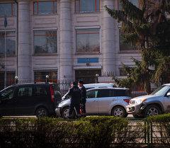 Улицы города Бишкек. Архивное фото