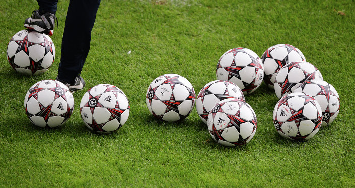 Футбол. Архивное фото