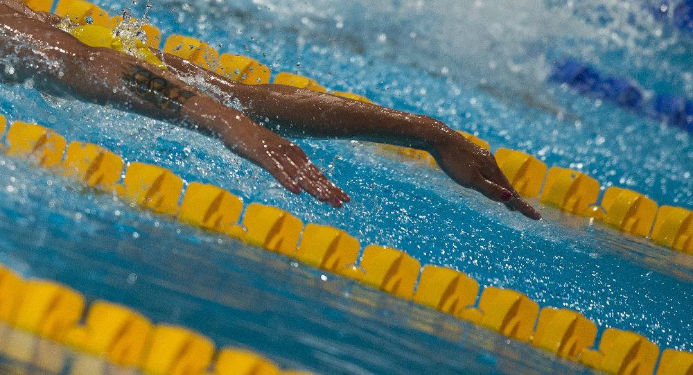 Пловец. Архивное фото