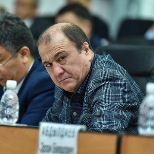 Министр внутренних дел Кыргызской Республики Мелис Турганбаев