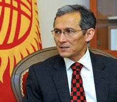 Экс-премьер-министр Дж.Оторбаев. Архивное фото