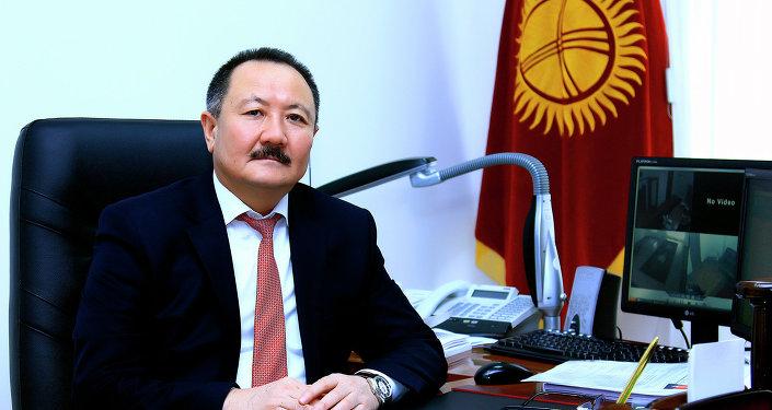 Ирсалиев Дуйшон Исмаилович. Архивное фото