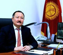 Бывший генеральный директор СЭЗ Бишкек Дуйшен Ирсалиев. Архивное фото