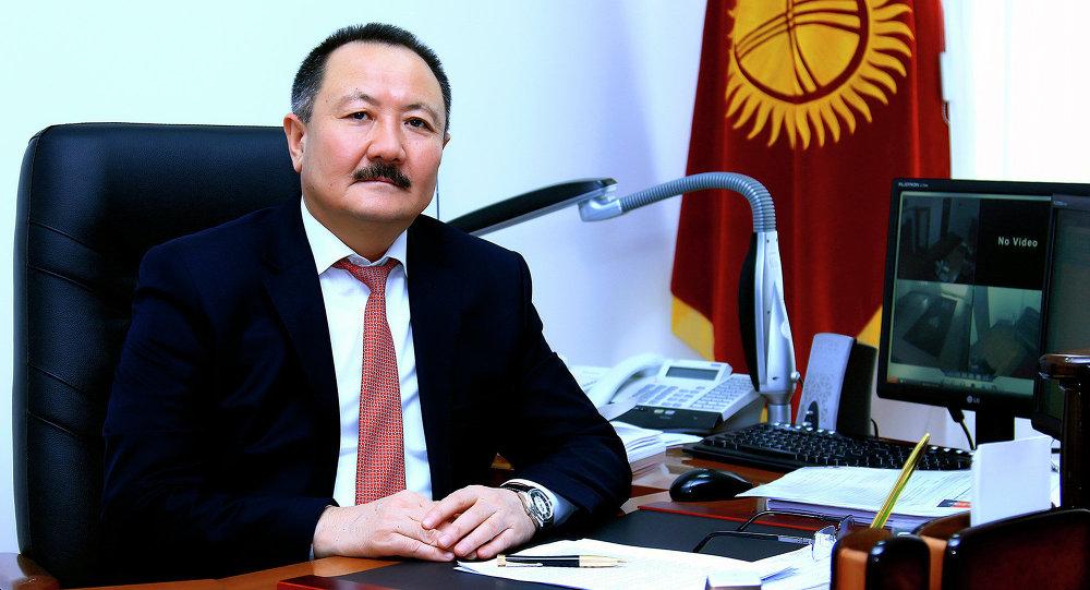Директор свободной экономической зоны Бишкек Дуйшен Ирсалиев. Архивное фото