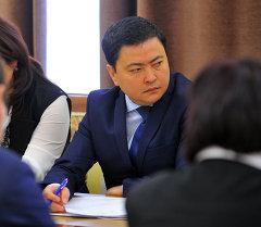 Евразиялык экономикалык комиссиянын Кыргызстандан дайындалган министри Данил Ибраев. Архив
