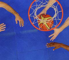 Баскетболисты. Архивное фото