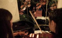 Оркестр. Архивдик сүрөт