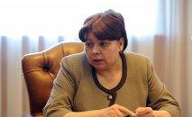 Бывший министр финансов Ольга Лаврова. Архивное фото
