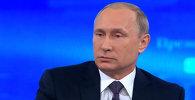 Путин: Порошенконун бардык жагдайды тынчтык жолуна салууга мүмкүнчүлүгү бар болчу