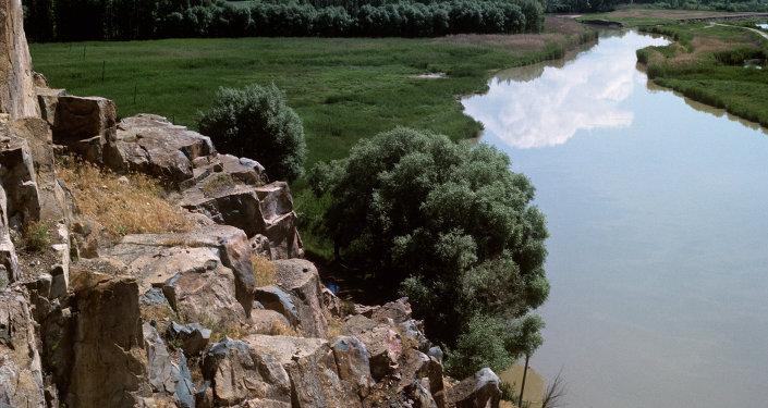 Кырсыктаган Хонда-Фит унаасы жүргүнчүлөрү менен Чычкан дарыясына түшүп кетти