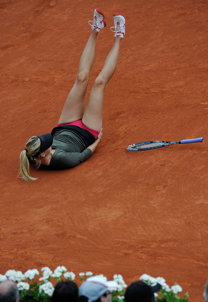 Теннис. Ролан Гаррос-2012. Девятый день
