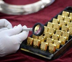 Алтын баалуу металлдардын бири. Архив