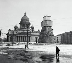 Блокадада калган Ленинград шаары. Архив