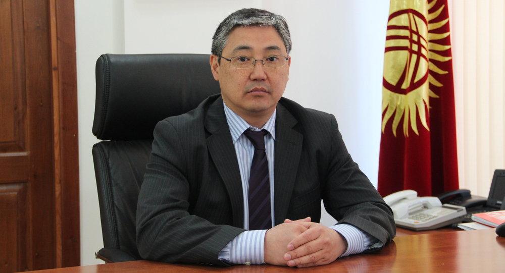 Бишкек шаарынын биринчи вице-мэри Алмаз Бакетаев. Архивдик сүрөт