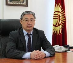 Бишкектин биринчи вице-мэри Алмаз Бакетаев. Архивдик сүрөт