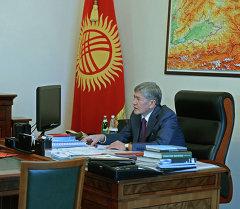Бусурманкул Табалдиев. Архив