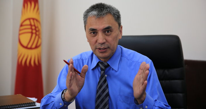 Кубан Абдымен, журналист, политолог