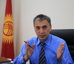 Журналист Кубан Абдымен. Архив