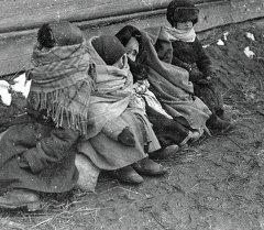 Дети войны. Архивное фото